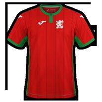 Bulgaria 2020 maillot exterieur foot
