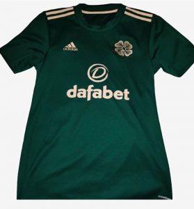 Celtic 2022 maillot third football