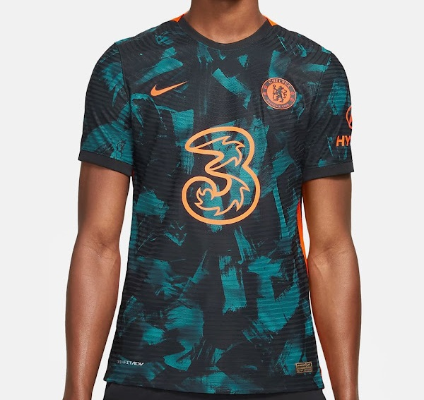 Chelsea 2022 maillot third Nike