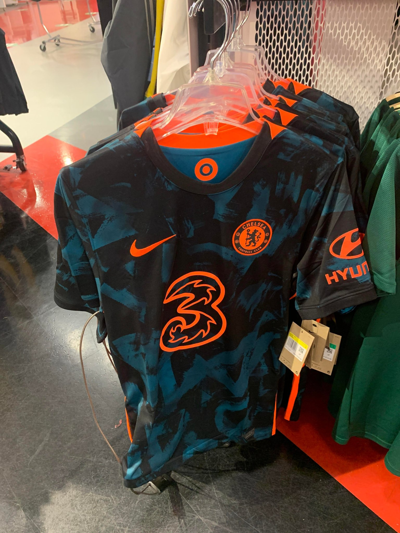 Chelsea 2022 maillot third foot