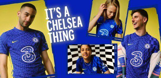Chelsea 2022 nouveau maillot domicile 21 22