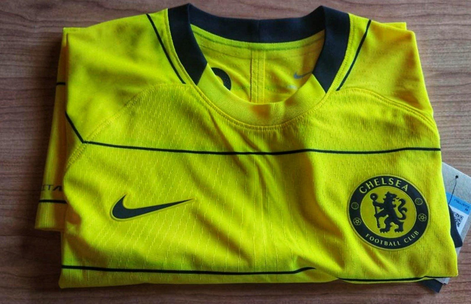 Chelsea 2022 nouveau maillot exterieur foot fuite