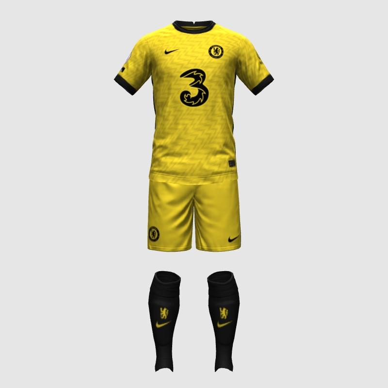 Chelsea 2022 possible maillot exterieur prediction jaune