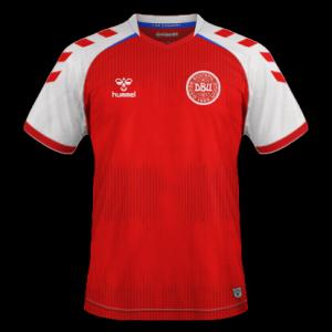 Danemark EURO 2020 maillot de foot domicile