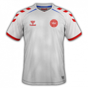 Danemark EURO 2020 maillot de foot exterieur