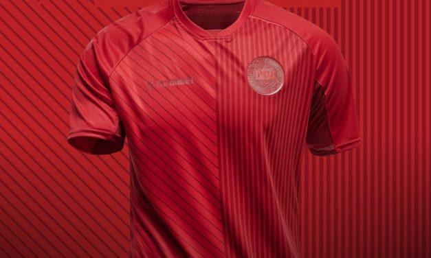 Danemark Euro 2020 les maillots par Hummel