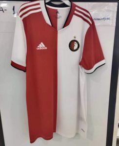 Feyenoord 2022 maillot de foot domicile fuite