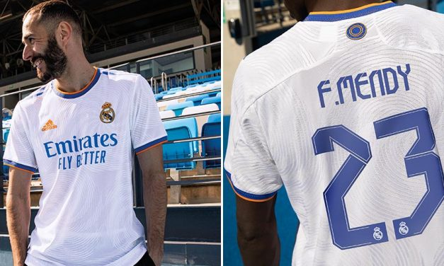 Les nouveaux maillots de football du Real Madrid 2022