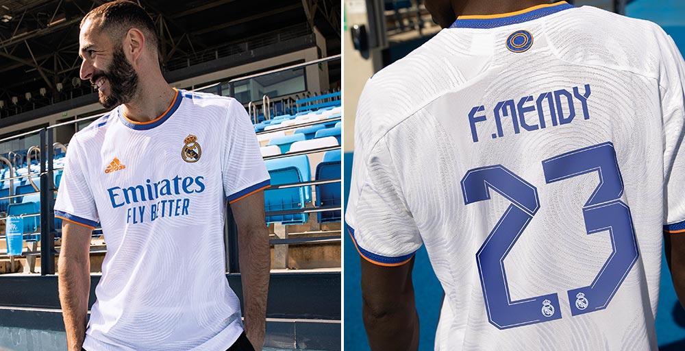 Real Madrid 2022 maillot de foot domicile 21 22 officiel Benzema