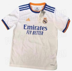 Real Madrid 2022 maillot domicile fuite