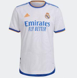 Real Madrid 2022 maillot foot domicile Adidas