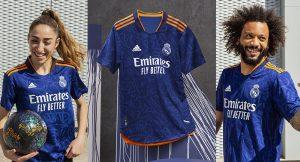 Real Madrid 2022 nouveau maillot de football exterieur 1