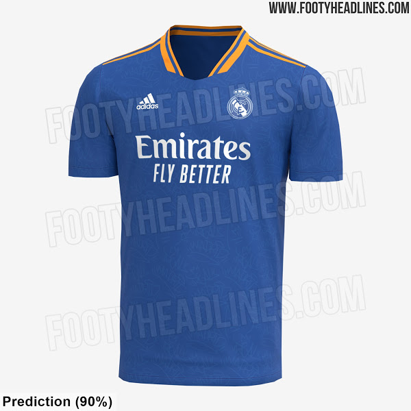 Real Madrid 2022 possible maillot exterieur