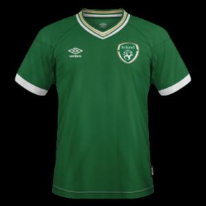 Republique Irlande 2020 maillot domicile