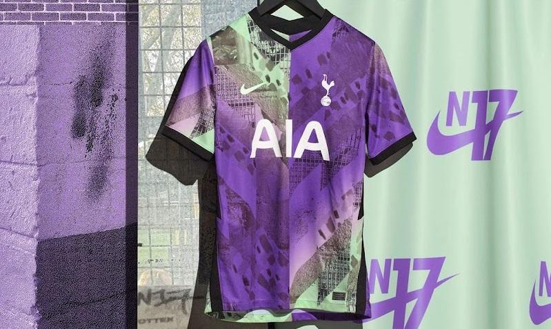 Tottenham 2022 3eme maillot de football third