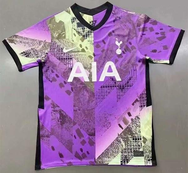 Tottenham 2022 maillot de foot third Nike