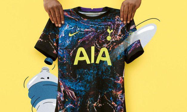 Les nouveaux maillots de Tottenham 2022