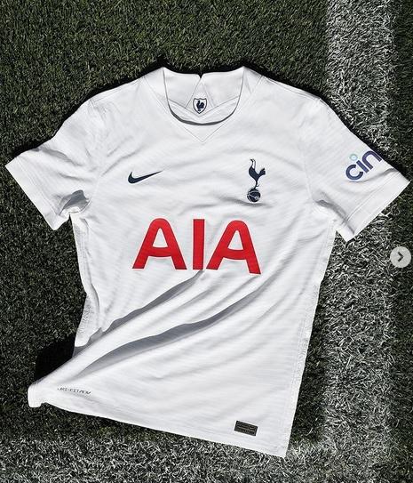Tottenham 2022 nouveau maillot de foot domicile officiel