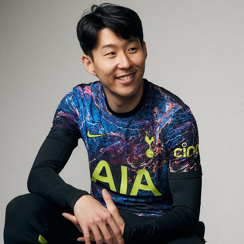 Tottenham 2022 nouveau maillot exterieur foot