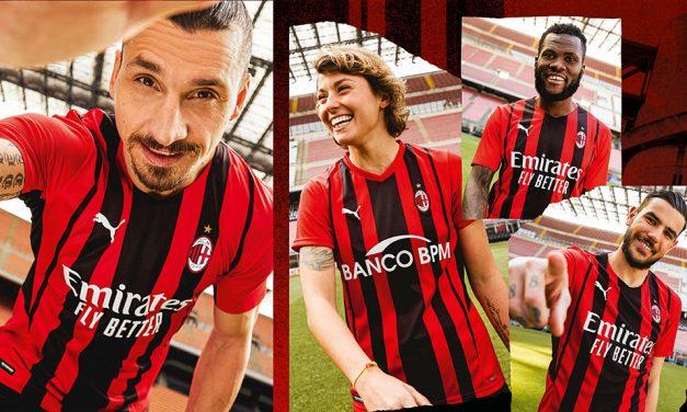Infos sur les nouveaux maillots Milan AC 2022