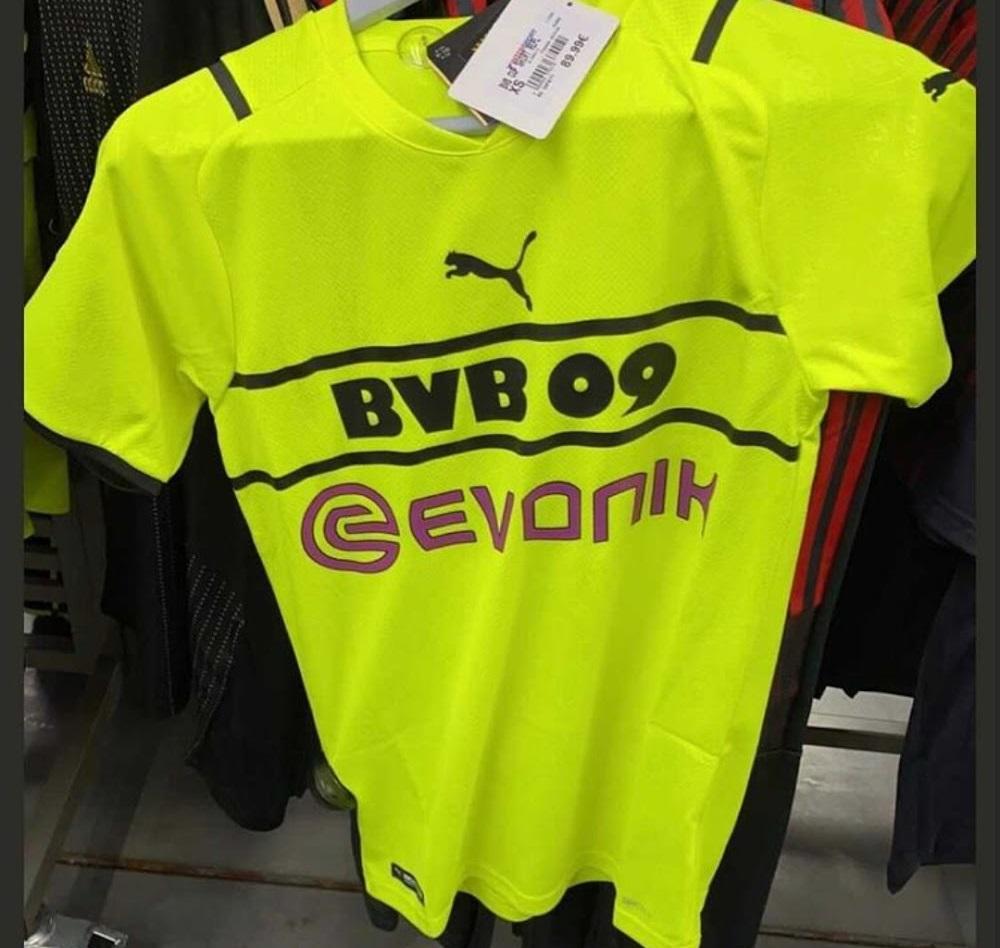 BVB Dortmund 2022 troisieme maillot third Puma