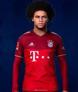 Bayern Munich 2022 maillot de foot domicile Sane