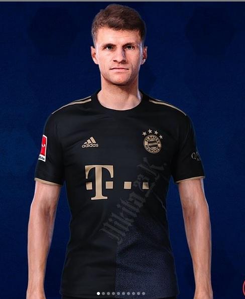 Bayern Munich 2022 maillot de foot exterieur Muller