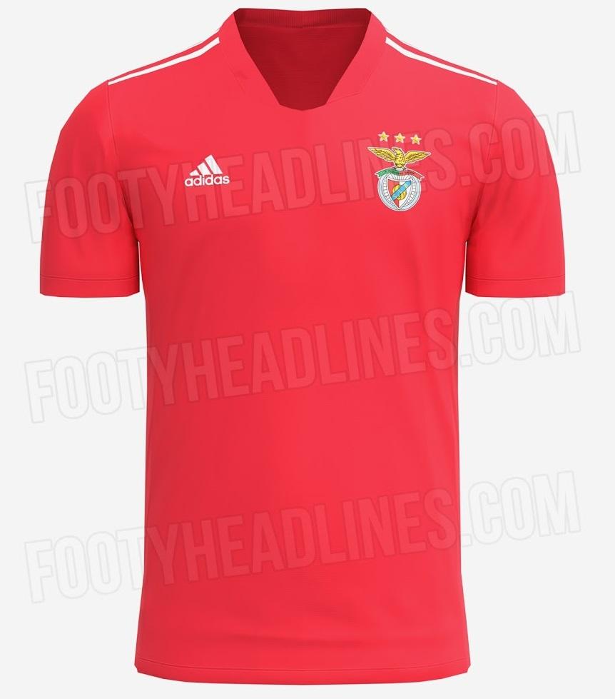 Benfica 2022 maillot domicile apercu prediction