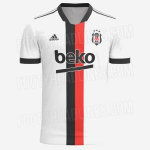 Besiktas 2022 maillot de foot domicile prediction