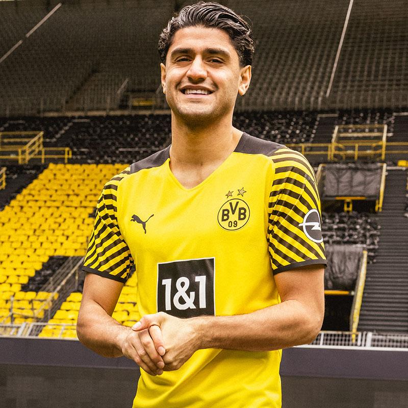 Borussia Dortmund 2022 maillot domicile foot