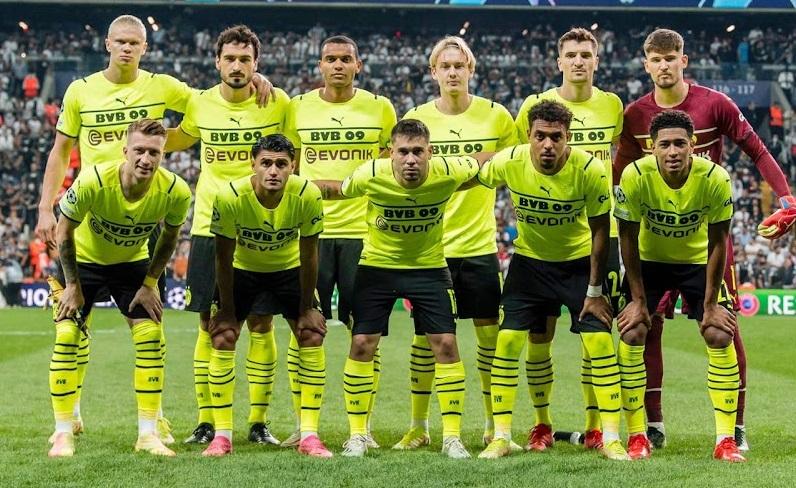 Dortmund 2022 maillot de coupe