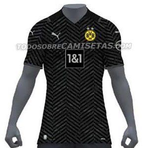 Dortmund 2022 maillot de foot exterieur
