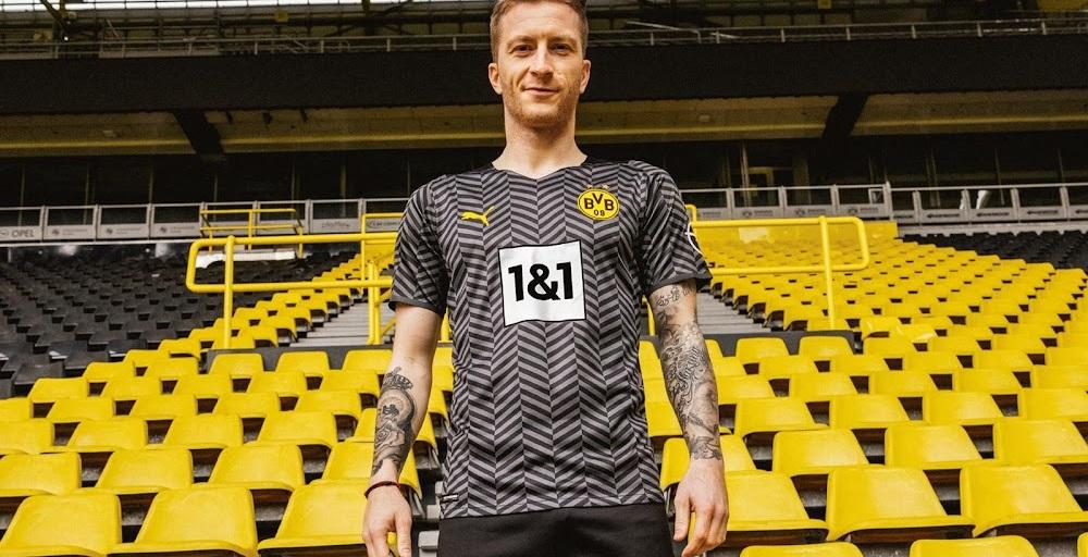 Dortmund 2022 maillot exterieur football