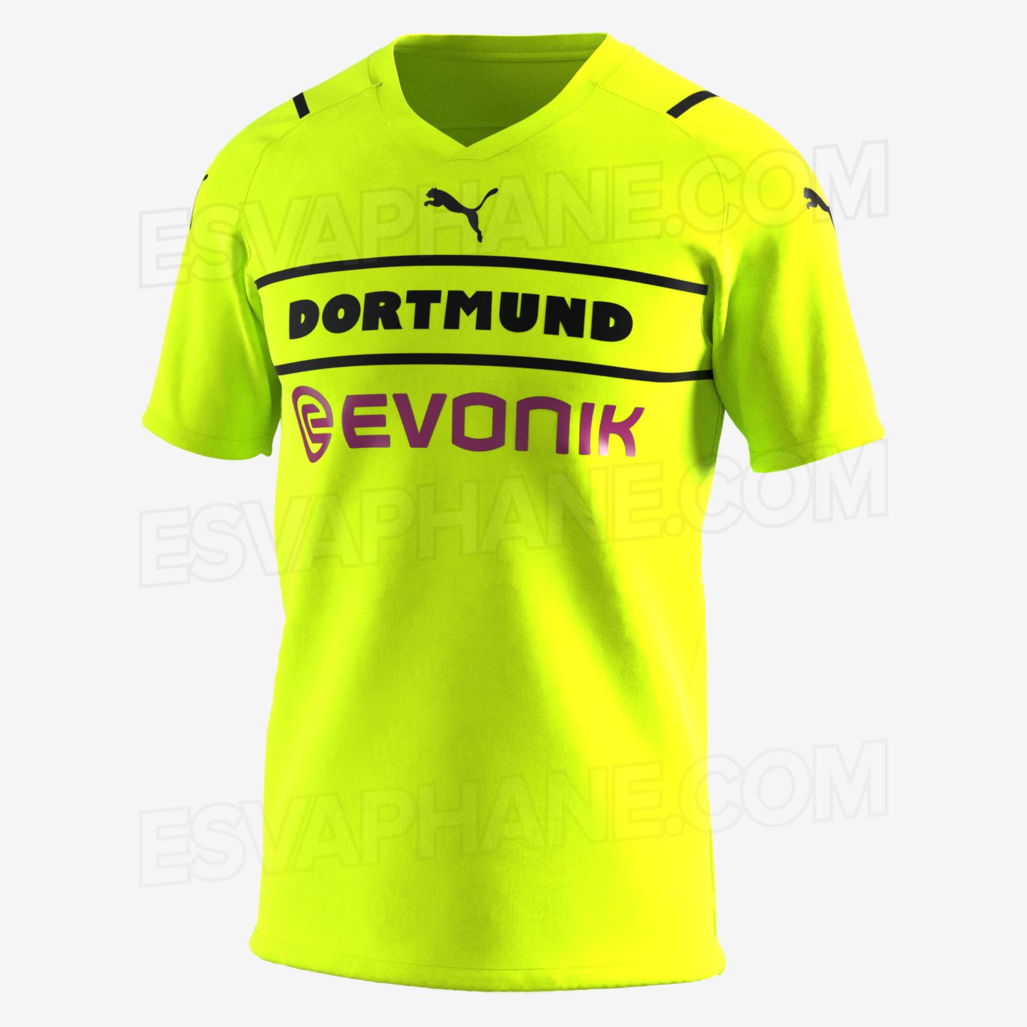 Dortmund 2022 maillot foot third coupe cup
