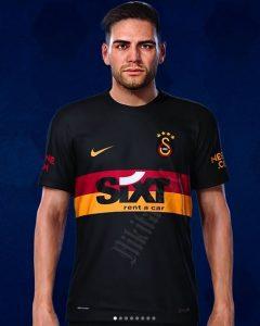 Galatasaray 2022 maillot exterieur foot