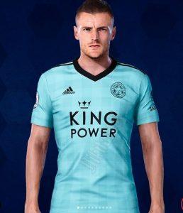 Leicester 2022 maillot de foot exterieur