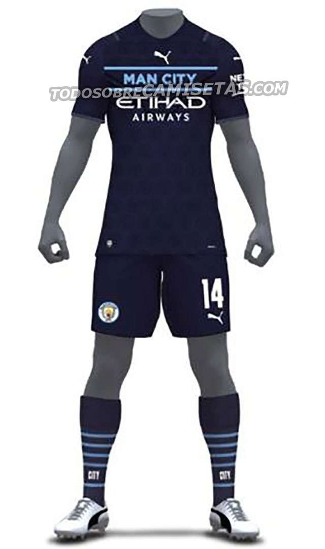 Manchester City 2022 3eme maillot third 21 22