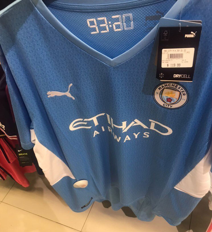 Manchester City 2022 maillot de foot domicile