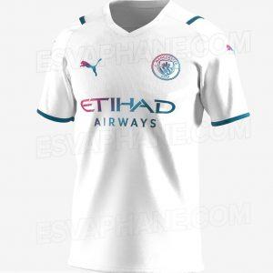 Manchester City 2022 maillot de foot exterieur