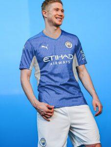 Manchester City 2022 maillot domicile