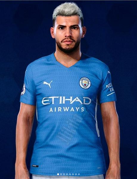 Manchester City 2022 nouveau maillot domicile football