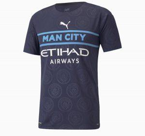 Manchester City 2022 nouveau maillot third Puma
