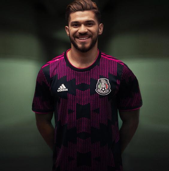 Mexique 2021 maillot domicile foot