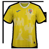 Roumanie 2020 2021 maillot de foot domicile