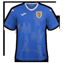 Roumanie 2020 2021 maillot de foot exterieur Joma