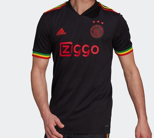 AJAX 2021 2022 maillot third football