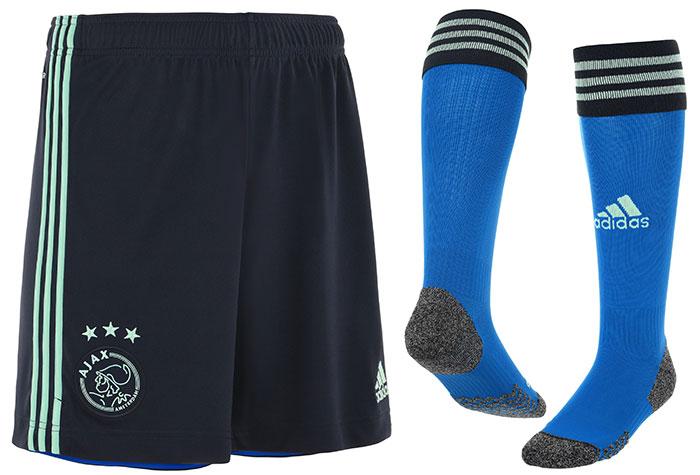 AJAX 2021 2022 short chaussettes de foot exterieur Adidas