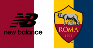 AS Roma couleur maillot domicile New Balance