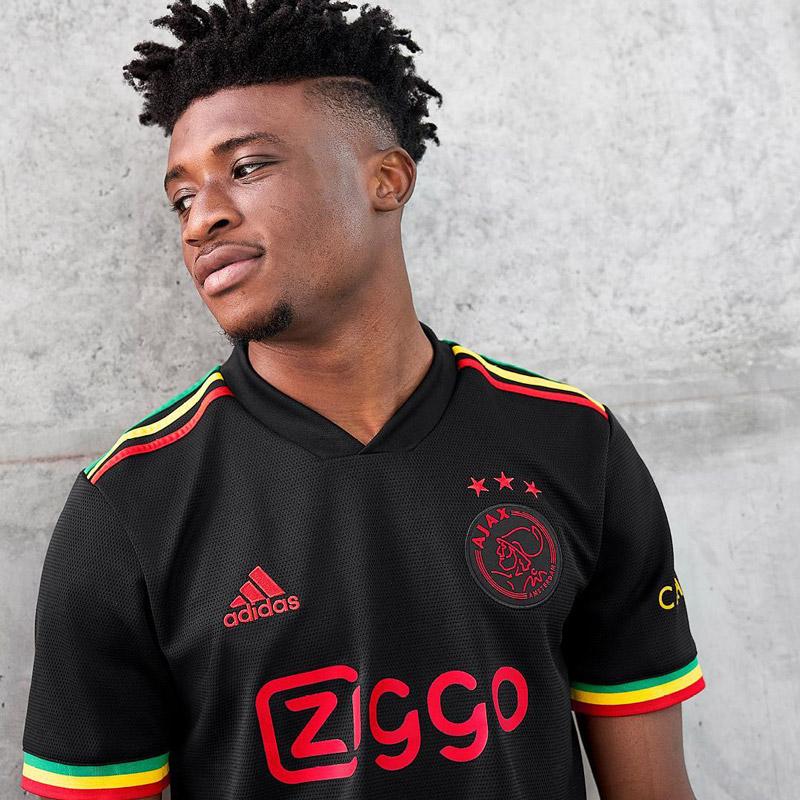 Ajax 2021 2022 nouveau maillot third Bob Marley