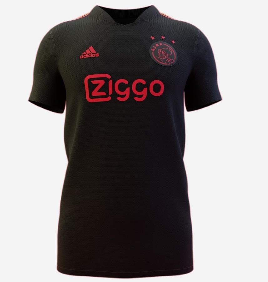 Ajax 2022 maillot third possible football